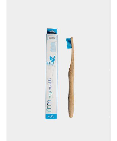 Bamboo Toothbrush - Blue