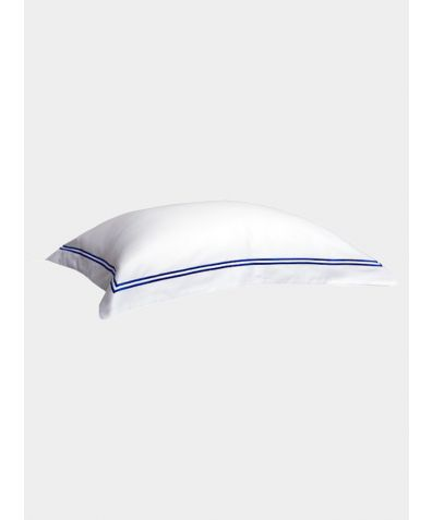 300 Thread Count Cotton Pillowcase - Provence Blue