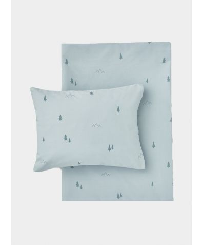 Organic Cotton Bed Linen Set - Forest