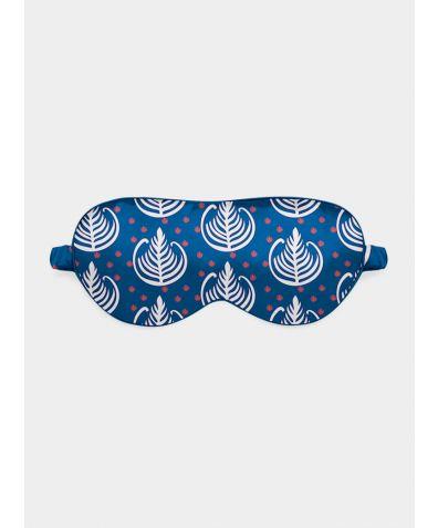 Silk Eye Mask - Blue Wakie