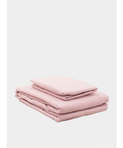 Lisbon Linen Duvet Cover - Blush