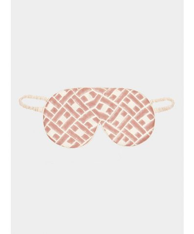 Mulberry Silk Sleep Mask & Bag - Leh Blush