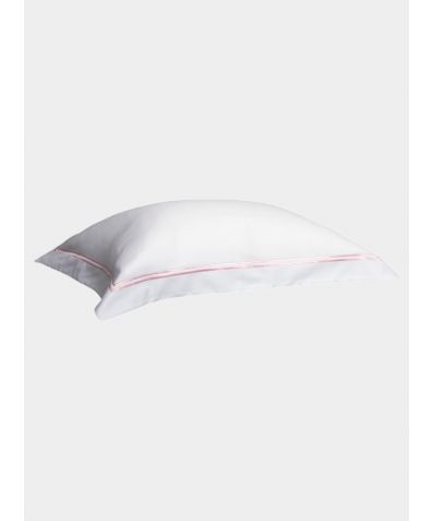 300 Thread Count Cotton Pillowcase - Blush