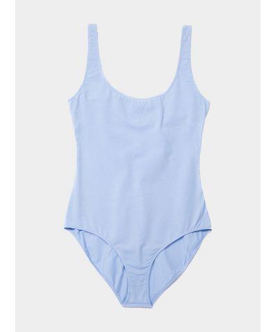 The BASIC Bodysuit - Blue