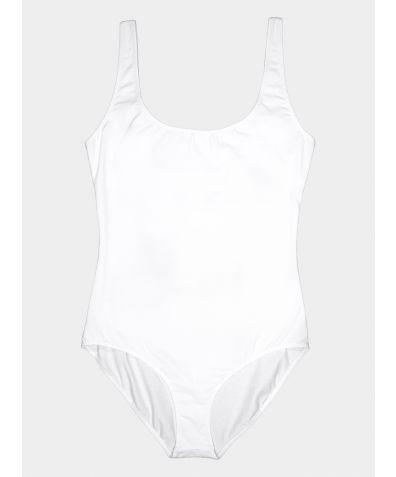The BASIC Bodysuit - White
