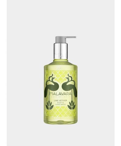 Lime Vetiver Body + Hand Wash, 300ml