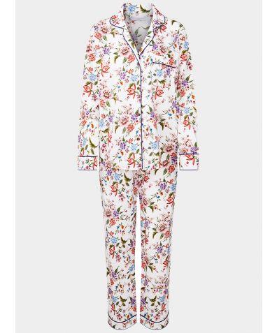 Women's Organic Cotton Pyjama Trouser Set - Bonita Flores