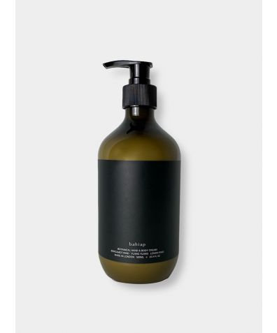 Botanical Hand & Body Cream 500ml - Vetivert Root, Patchouli & Cedarwood