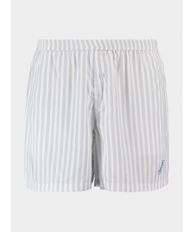 Organic Bamboo Boxer Shorts - Simple Stripe