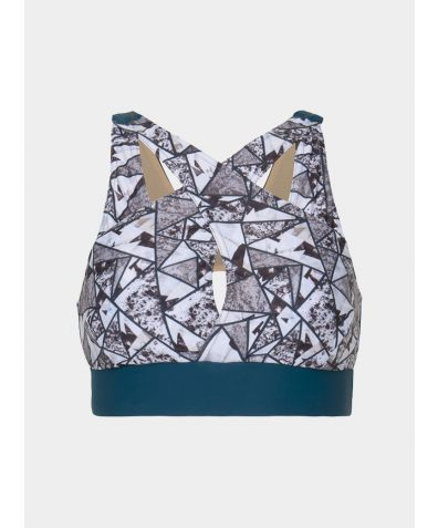 Power On Bra - Geometric