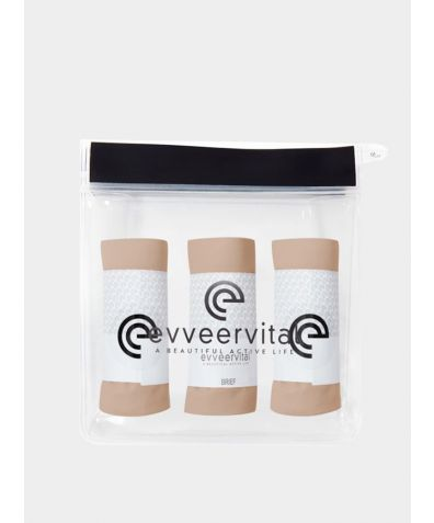 Smooth Finish 3 pack Brief - Coco Butter