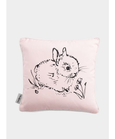 Little Bunny Cushion - Pink