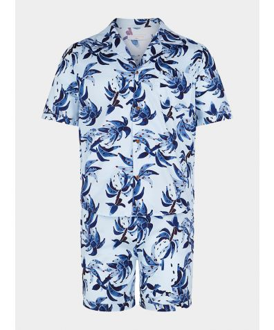 Men's Organic Cotton Pyjama Short Set - Búzios