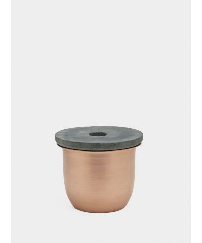 C3 | Small Container - Copper with Soapstone