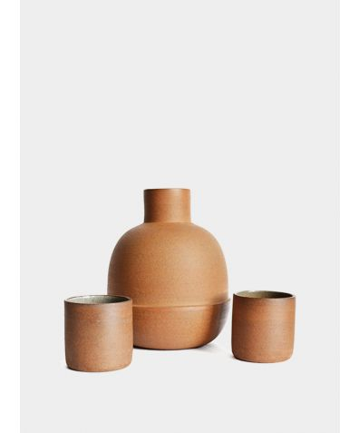 Large Carafe with 2 Cups