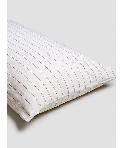 Linen Pillowcases (Pair) - Luna Stripe