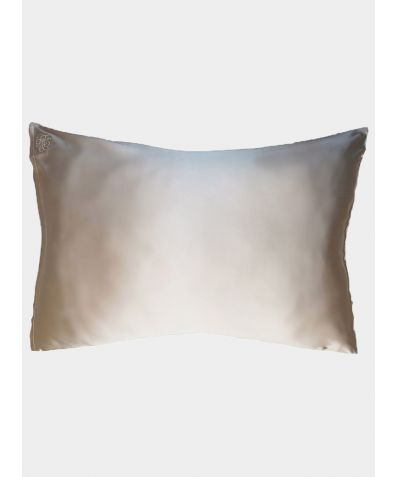 Privé Silk Pillowcase Slip - Champagne