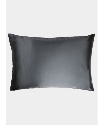 Privé Silk Pillowcase Slip - Charcoal