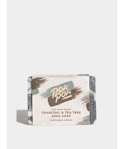 Charcoal & Tea Tree Natural Soap, 100g