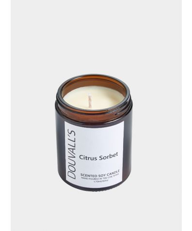 Eco-Soy Wax Scented Candle - Citrus Sorbet