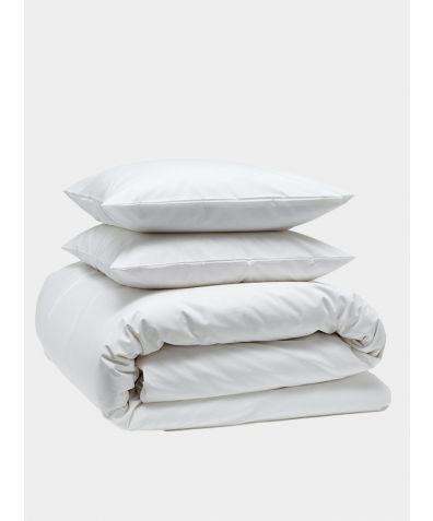 Classic 300 Thread Count Cotton Bedding Bundle - Snow