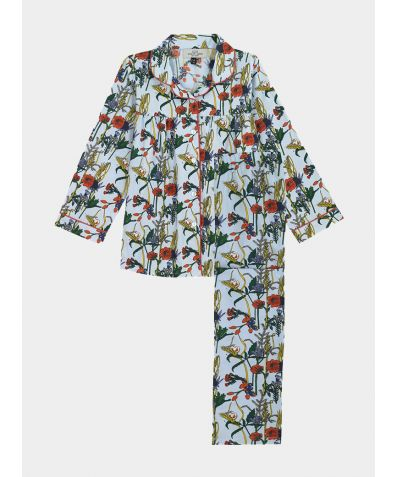 Children's Cotton Pyjama Trouser Set - Harvest Hedge (COMING SOON)