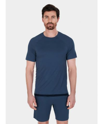 Men's Nattcool® Sleep Tech T-Shirt - Coastal Blue