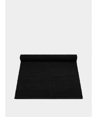 Cotton Rug - Black