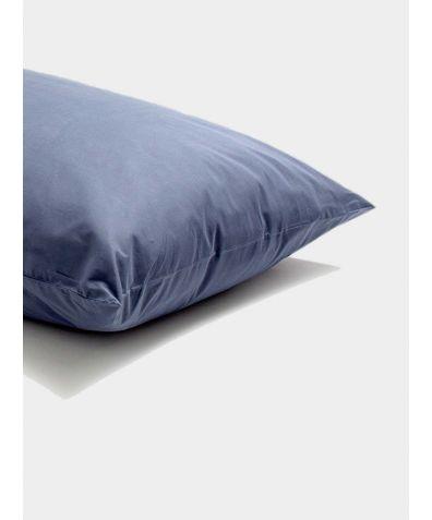 Percale Cotton Pillowcase (Pair) - Navy