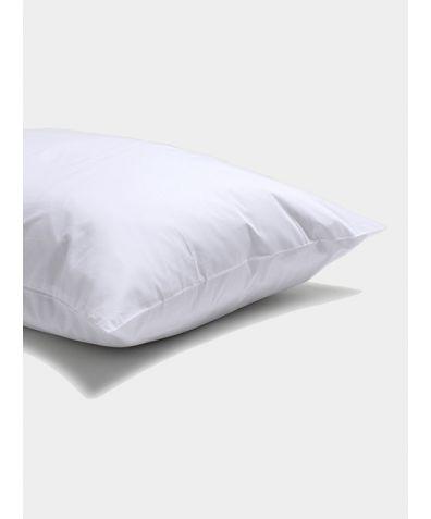 Percale Cotton Pillowcase (Pair) - White