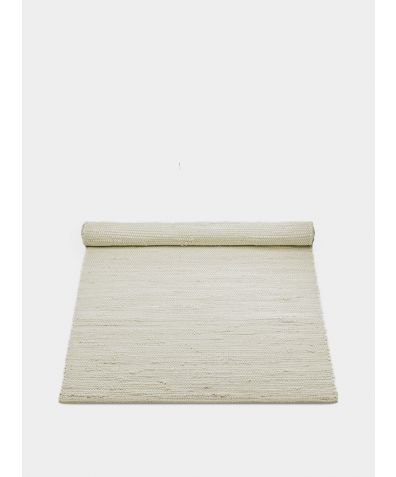 Cotton Rug - Desert White
