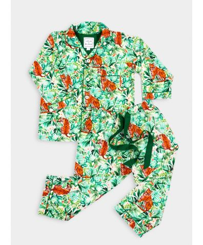 Women's Cotton Pyjama Trouser Set - Jungle