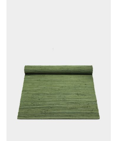 Cotton Rug - Olive Green