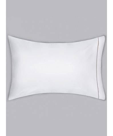 Chika 300 Thread Count Cotton Housewife Pillowcase - Grey