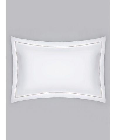 Chika 300 Thread Count Cotton Oxford Pillowcase - Grey