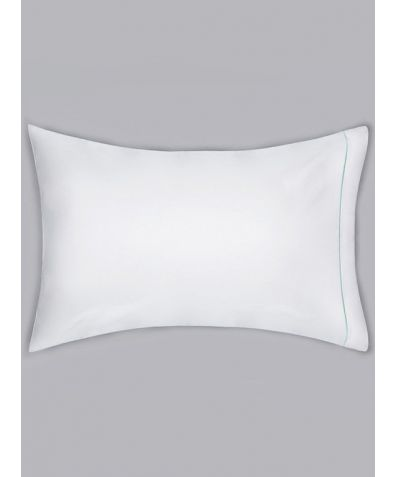 Estudo 600 Thread Count Cotton Housewife Pillowcase - Green