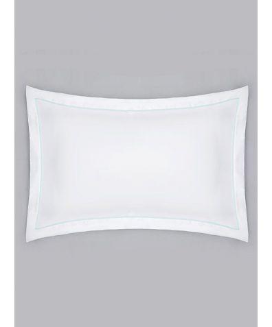 Estudo 600 Thread Count Cotton Oxford Pillowcase - Green