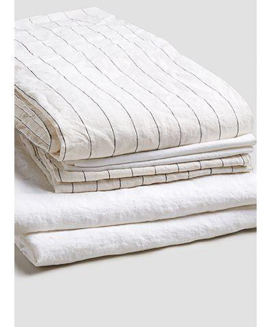Linen Bedtime Bundle - Luna Stripe