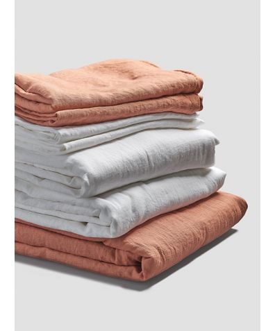 Linen Bedtime Bundle - Burnt Orange