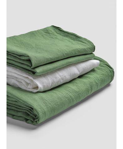 Linen Basic Bundle - Forest Green