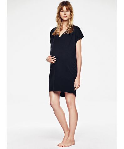 Nursing Dress - Black