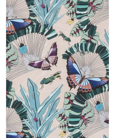 Entomologist's Garden Wallpaper