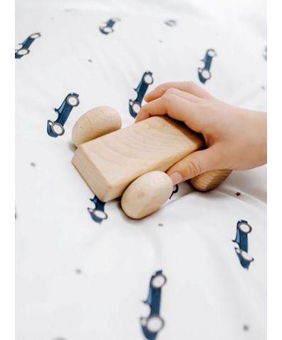 Cotton Bed Set - Mini Racers