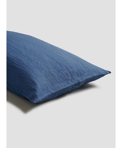 Linen Pillowcases (Pair) - Blueberry