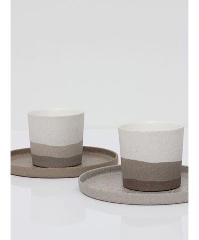 Artisan Ceramic Espresso Set