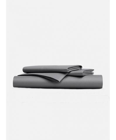 Classic 300 Thread Count Sheet Set - Smoke Grey