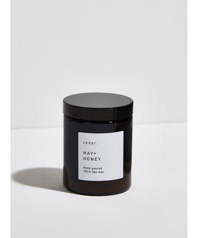 Soy Wax Candle - Hay + Honey, 300ml