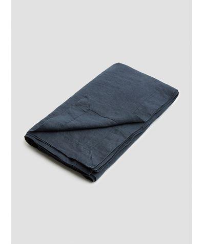 Linen Tablecloth - Navy
