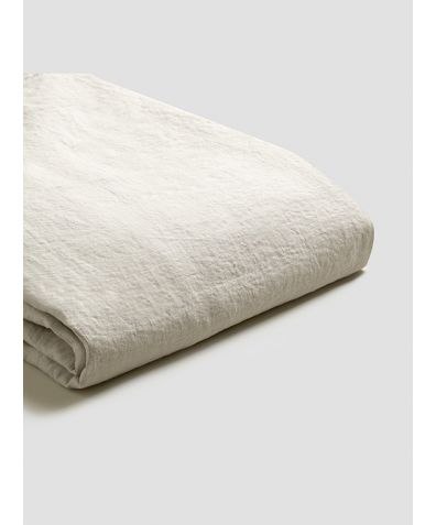Linen Duvet Cover - Oatmeal