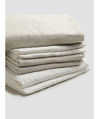 Linen Bedtime Bundle - Oatmeal